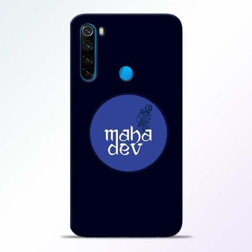 Mahadev God Xiaomi Redmi Note 8 Mobile Cover