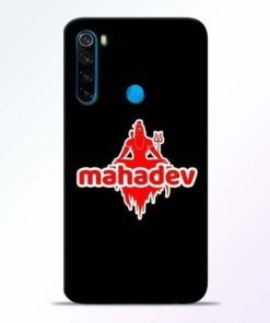 Mahadev Love Xiaomi Redmi Note 8 Mobile Cover