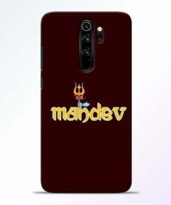 Mahadev Trishul Redmi Note 8 Pro Mobile Cover