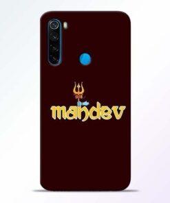 Mahadev Trishul Xiaomi Redmi Note 8 Mobile Cover