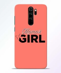 Mama Girl Redmi Note 8 Pro Mobile Cover