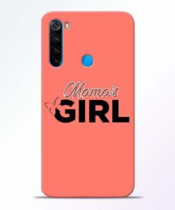 Mama Girl Xiaomi Redmi Note 8 Mobile Cover
