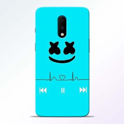 Marshmello Song OnePlus 7 Mobile Cover