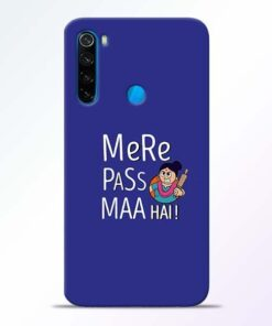 Mere Paas Maa Xiaomi Redmi Note 8 Mobile Cover