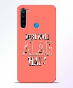 Meri Wali Alag Xiaomi Redmi Note 8 Mobile Cover