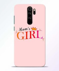 Mom Girl Redmi Note 8 Pro Mobile Cover