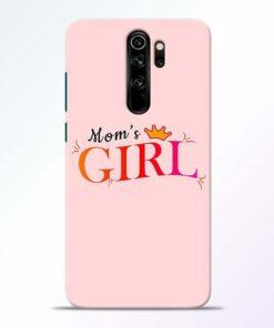 Mom Girl Redmi Note 8 Pro Mobile Cover