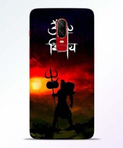 Om Mahadev OnePlus 6 Mobile Cover