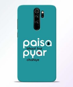 Paisa Bahut Redmi Note 8 Pro Mobile Cover