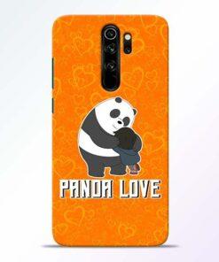 Panda Love Redmi Note 8 Pro Mobile Cover