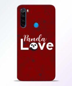 Panda Lover Xiaomi Redmi Note 8 Mobile Cover