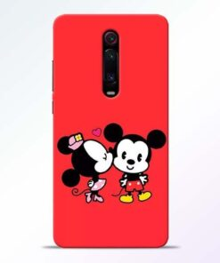 Red Cute Mouse Redmi K20 Pro Mobile Cover