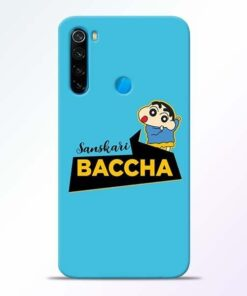Sanskari Baccha Xiaomi Redmi Note 8 Mobile Cover