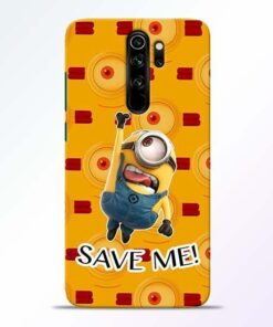 Save Minion Redmi Note 8 Pro Mobile Cover