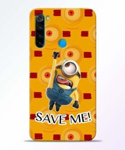 Save Minion Xiaomi Redmi Note 8 Mobile Cover