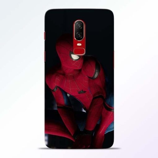 Spiderman OnePlus 6 Mobile Cover