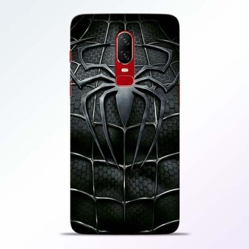Spiderman Web OnePlus 6 Mobile Cover