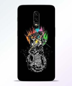 Thanos Hand OnePlus 6T Mobile Cover