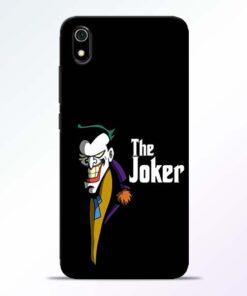 The Joker Face Redmi 7A Mobile Cover