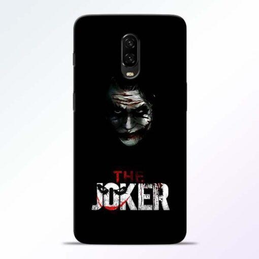 The Joker OnePlus 6T Mobile Cover
