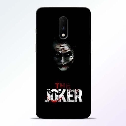 The Joker OnePlus 7 Mobile Cover