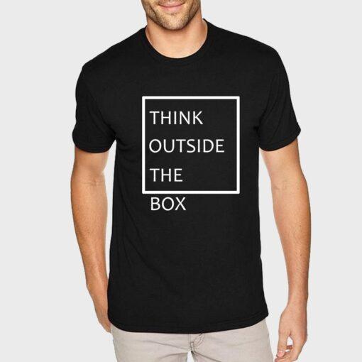 Think Outside Men Tshirt