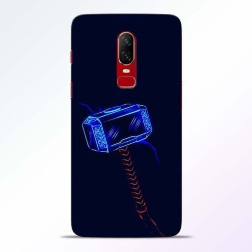 Thor Hammer OnePlus 6 Mobile Cover