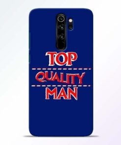 Top Quality Man Redmi Note 8 Pro Mobile Cover