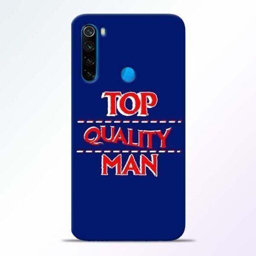 Top Quality Man Xiaomi Redmi Note 8 Mobile Cover