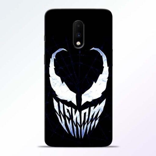 Venom Face OnePlus 7 Mobile Cover