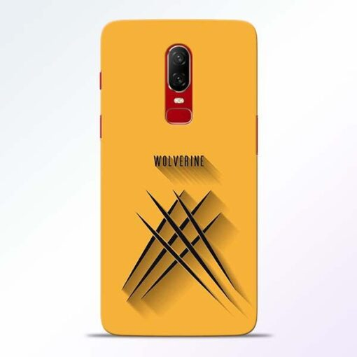 Wolverine OnePlus 6 Mobile Cover