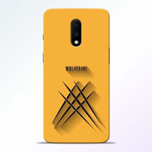 Wolverine OnePlus 7 Mobile Cover
