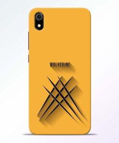 Wolverine Redmi 7A Mobile Cover