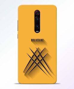 Wolverine Redmi K20 Pro Mobile Cover