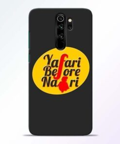 Yafari Before Redmi Note 8 Pro Mobile Cover