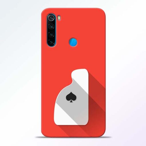 Ace Card Redmi Note 8 Mobile Cover - CoversGap