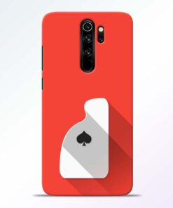 Ace Card Redmi Note 8 Pro Mobile Cover - CoversGap