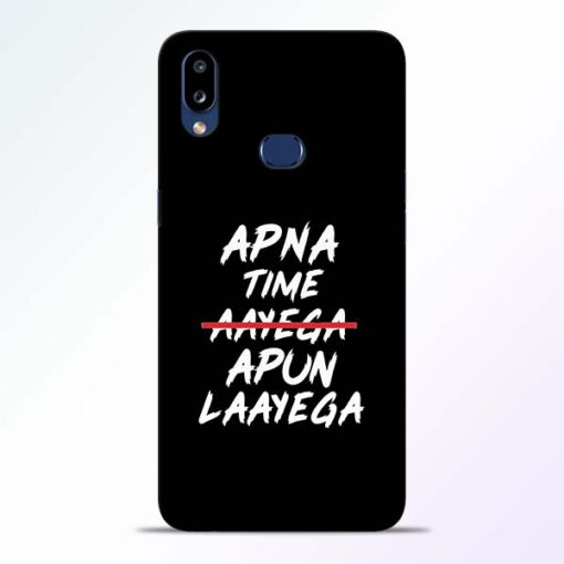 Apna Time Apun Samsung Galaxy A10s Mobile Cover
