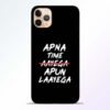Apna Time Apun iPhone 11 Pro Mobile Cover