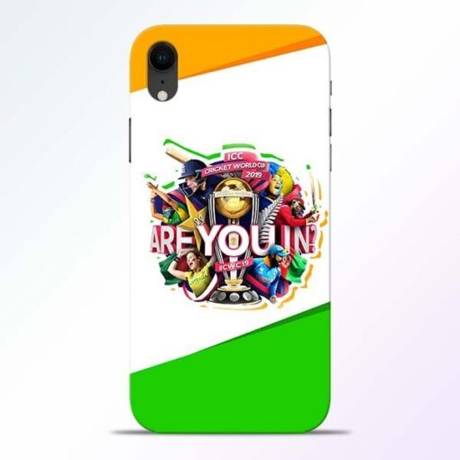 Are you In iPhone XR Mobile Cover