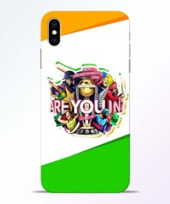 Are you In iPhone XS Max Mobile Cover