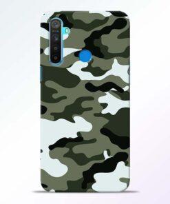 Army Camo RealMe 5 Mobile Cover - CoversGap