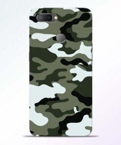 Army Camo RealMe U1 Mobile Cover - CoversGap