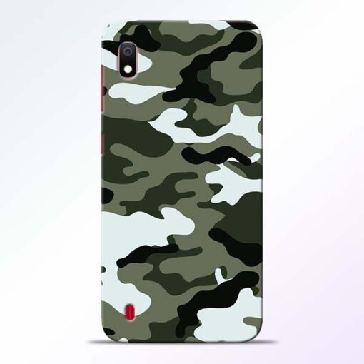 Army Camo Samsung A10 Mobile Cover - CoversGap
