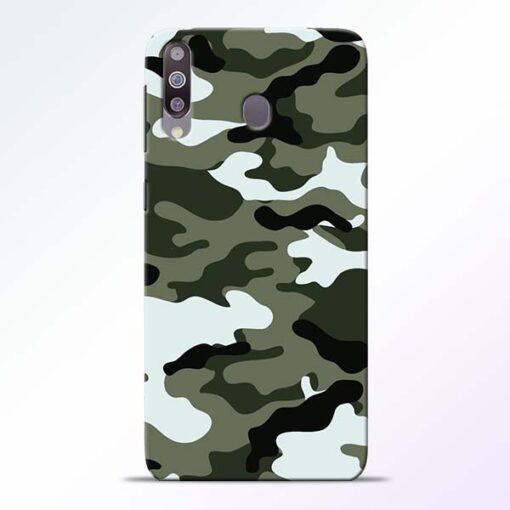 Army Camo Samsung M30 Mobile Cover - CoversGap