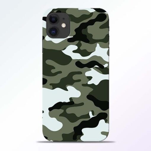Army Camo iPhone 11 Mobile Cover