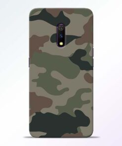 Army Camouflage RealMe X Mobile Cover - CoversGap