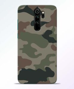 Army Camouflage Redmi Note 8 Pro Mobile Cover
