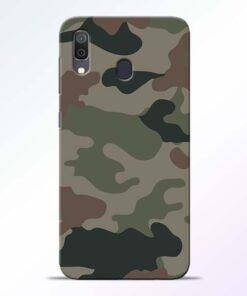 Army Camouflage Samsung A30 Mobile Cover - CoversGap