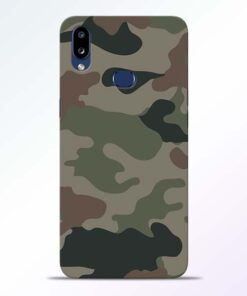 Army Camouflage Samsung Galaxy A10s Mobile Cover